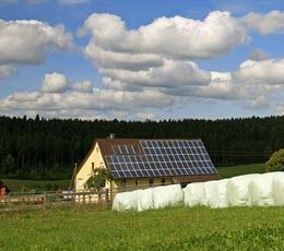 Betrieb einer Photovoltaikanlage auf dem eigenen Haus